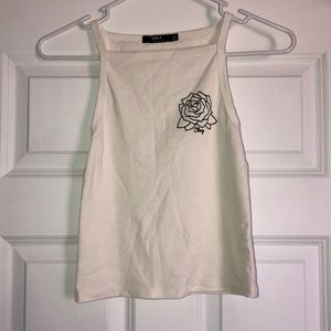 obey cropped top
